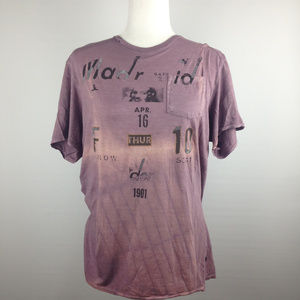 Guess Vintage looking Tee Size M
